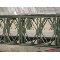 Wholesale Portable Military Floating Bridge Surface Galvanized Modular Bailey Truss Bridge from china suppliers