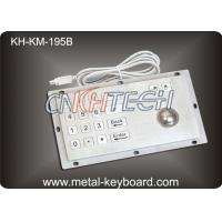 Wholesale Metal Access Kiosk Digital Stainless Steel Keyboard with trackball from china suppliers