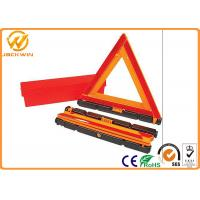 Wholesale Foldable Roadside Safety  Emergency Triangle Reflectors with E Mark High Visibility from china suppliers