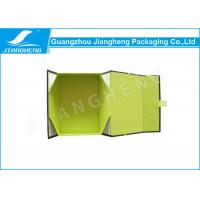 Wholesale Green Square Folding Box Packaging Environmental Friendly With Clear Window from china suppliers