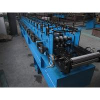 Quality 3 Tons Decoiler Shutter Door Frame Roll Forming Machine 40GP Container Maximal to 1.2mm for sale