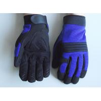 Wholesale Foam padded leather Palm anti shock Household and Mechanic Work Gloves from china suppliers