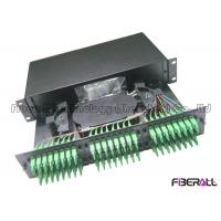 Wholesale Slide Out Drawer 2U Fiber Patch Panel , 96 Port Fiber Patch Panel For LC Duplex from china suppliers