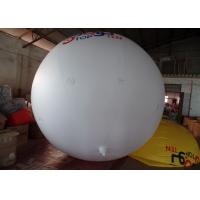 Wholesale 0.14mm PVC White Helium Advertising Balloons Full Digital Printing from china suppliers