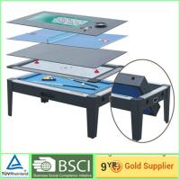 Muti color entertainment Foosball Table in Pool / Air Hockey / Roulette Table
