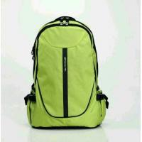 Wholesale Light Green Shoulder Backpack Outdoor / Waterproof Hiking Bags For Travel from china suppliers