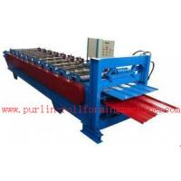 Wholesale Waterproof Corrugated Roof Tile Roll Forming Machine for Factory , Warehouse , Garage from china suppliers