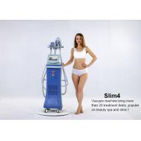 Wholesale 5 in 1 system Vertical Vacuum Cavitation Body Sculpting Slimming Machine with 4 handles from china suppliers
