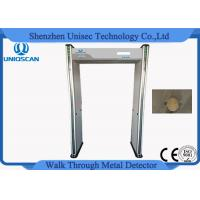 Quality Multi Zone Archway High Sensitive Metal Detector Door Frame Support Cctv Camera for sale
