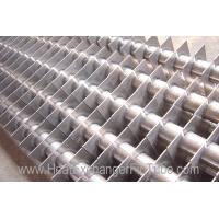 Wholesale SA213 T11 / T22 Alloy Steel Welded Square Fin Tube for Economizer , H Fins from china suppliers