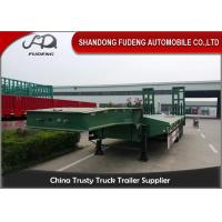Wholesale Heavy Duty Truck transportation 80 ton Lowbed Semi Trailer Trucks And Trailers from china suppliers