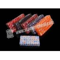 Wholesale 14mm Transparent Plastic Casino Magic Dice Set With Medicine Inside from china suppliers