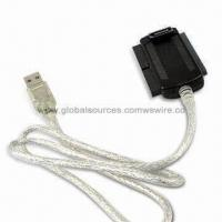 Wholesale Dual SATA Plug Connector to IDE, USB, PATA Adapter Cable Assembly for Hard Drive, Laptop from china suppliers