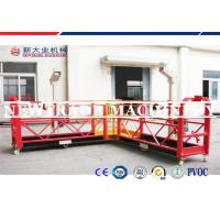 Wholesale Red / Yellow Building Construction Platform Lift Scaffolding Work Platform from china suppliers