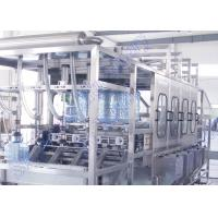 Quality CE 450 BPH 5 Gallon Bottled Water Filling Machine For PC Bottle / PET Bottle for sale