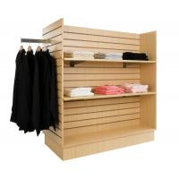 Wholesale Commercial Garment Retail display racks / MDF four side clothes display stand hangers from china suppliers