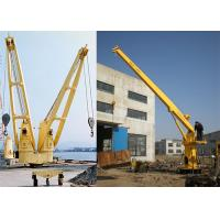 Wholesale Long Telescopic Boom Offshore Marine Cranes Hydraulic Deck Crane Machine from china suppliers