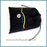 Wholesale nylon shoes bag with drawstring from china suppliers