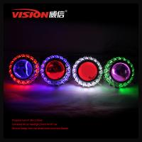Wholesale China Factory fashion style car accessories 2.5 inch 35W hid bi xenon projector lens with double angel eyes from china suppliers