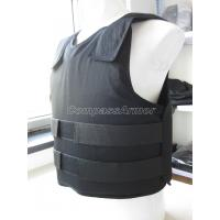 Wholesale Concealable Body Armor Military Bulletproof Vest with NIJ 0101.06 Certificate from china suppliers