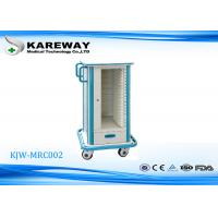 Wholesale Noise Free Medical Trolley Cart With Optional Accessories , Anti - Winding Caster Wheels from china suppliers