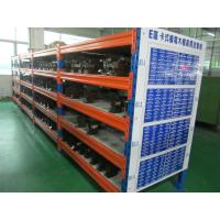 Quality 3 Levels Heavy Duty Racking System With Steel Plate Decking 3000H * 1000D * 2300L for sale