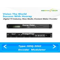 Wholesale SDI HDMI CVBS Input Encoder Digital TV Modulator With DVB-C DVB-T ISDB-T RF Output from china suppliers