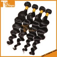 Wholesale 12inch Grade 6A Indian Long Hair World Loose Wave Wholesale Indian Hair Weave from china suppliers