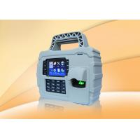 Wholesale Waterproof  3.5 TFT fingerprint staff time attendance system with GPRS  WIFI , Built In Battery from china suppliers