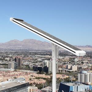 China Self Cleaning Solar Panels Street Light High Powered 5000 Lumen Entire Aluminium alloy Case on sale