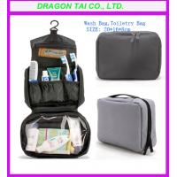 Wholesale travel Wash bag , toiletry bag with hook; from china suppliers