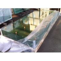 Wholesale Curve clear 10mm / 8mm Bulletproof  Tempered Safety Glass for Office Separator from china suppliers