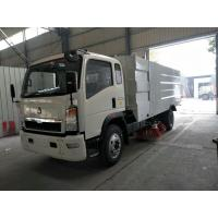 Wholesale High Efficient Street Cleaner Truck , 4x2 Dust Collecting Road Sweeping Machine from china suppliers
