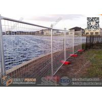 Wholesale Temporary Fence Panel with Plastic Feet | 42μm Gal. | 2.1X2.4m from china suppliers