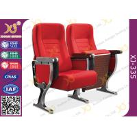 Wholesale Aluminum Leg Stackable Auditorium Chairs With ABS Tablet / Tip Up Seat from china suppliers
