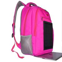 Wholesale 3.5W Nylon Backpacking Solar Charger , 6V Womens Backpack With Built In Charger from china suppliers