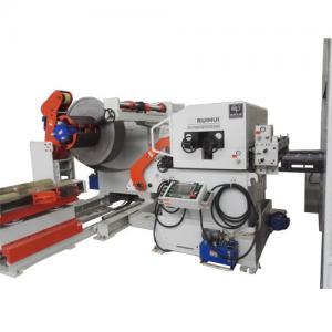 Punch Automatic NC Leveller Feeder Uncoiler Steel Coil Unwinder 12 Months Warranty