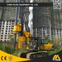 Wholesale Kr90c Using 318d Base Concrete Foundation Piling Rig Mini Bore Pile Machine from china suppliers
