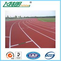 Buy cheap All Weather Track Surface Prefabricated Flooring Rubber Gym Floor Outdoor from wholesalers