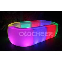Wholesale RGB Color Change Led Bar Counter DMX Control KTV Round Shape from china suppliers