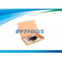 Wholesale 10Gbps Optical Network Adapter Card Single Port SFP Slot LC Fiber 10km from china suppliers