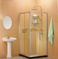 Buy cheap Square Corner Entry Shower Enclosure from wholesalers