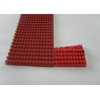 Buy cheap Red Rubber Corrugated belt on Top Super Grip Belt Type A-13, B-17 ,C-22 from wholesalers
