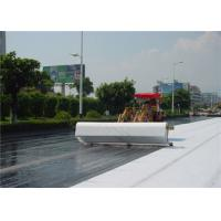 Wholesale White Non Woven Geotextile fabric underlayment 0.68 - 0.92MM Thickness from china suppliers