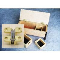 Wholesale Jewel Case Soss Hinge Casket Box Stainless Steel Concealed Hinges Hidden Loops from china suppliers