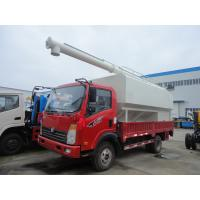 Wholesale SINO TRUK Wangpai 22cbm bulk feed pellet transportation vehicle for sale, best price farm-oriented animal feed truck from china suppliers