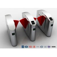 Wholesale ADA Retractable Security Flap Turnstile Barrier Gate DC24V 20W For Wide Lane Solution from china suppliers