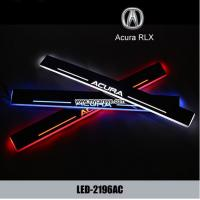 Wholesale Acura RLX car door welcome lights LED Moving Door sill Scuff for sale from china suppliers