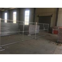 Wholesale Easy Install Chain Link Mesh Used Temporary Fence For USA from china suppliers