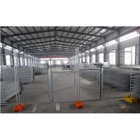 Buy cheap Australia Standard 2.1x2.4m Galvanized construction site temporary fencing from wholesalers